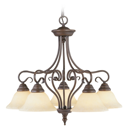 Livex Lighting Livex Lighting Coronado Imperial Bronze Chandelier 6135-58
