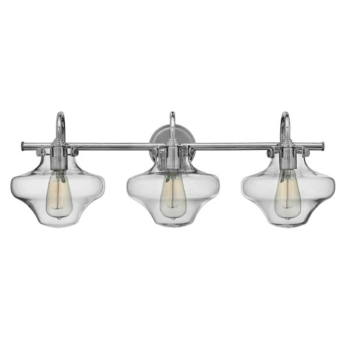 Hinkley Lighting Hinkley Lighting Congress Chrome Bathroom Light 50031CM
