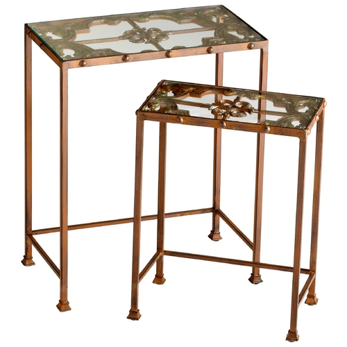 Cyan Design Cyan Design Gunnison Rust Table 04887