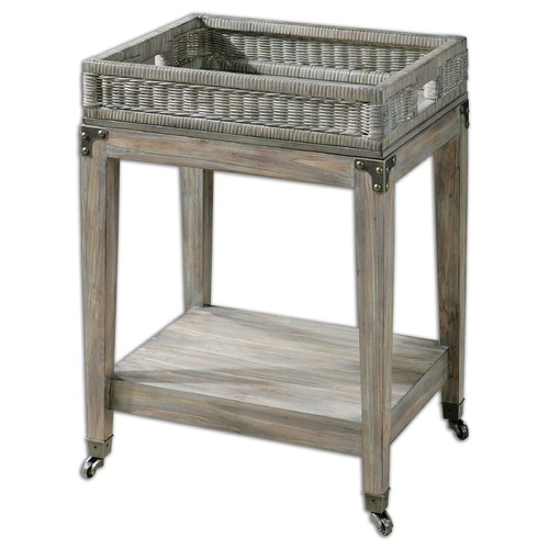 Uttermost Lighting Uttermost Davaughn Wooden Serving Cart 24431