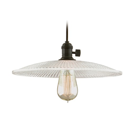 Hudson Valley Lighting Hudson Valley Lighting Heirloom Old Bronze Pendant Light with Bowl / Dome Shade 8001-OB-GS4