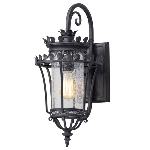 Troy Lighting Troy Lighting Greystone Forged Iron Outdoor Wall Light B5131