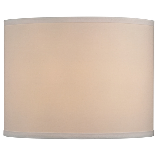 Design Classics Lighting Linen Drum Lamp Shade in Cream SH9556