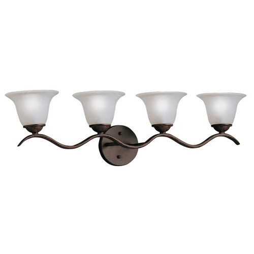 Kichler Lighting Kichler Bathroom Light in Tannery Bronze Finish 6324TZ