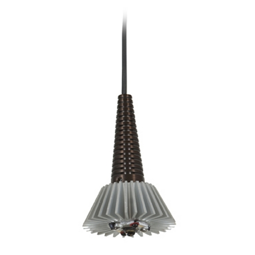 Access Lighting Access Lighting Tungsten Bronze LED Mini-Pendant Light 70012LED360-BRZ