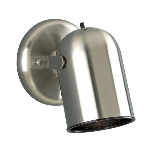 Progress Lighting Progress Directional Spot Light in Brushed Nickel Finish P6155-09