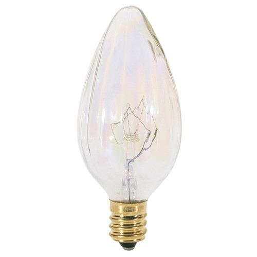 Satco Lighting Incandescent F10 Light Bulb Candelabra Base 120V Dimmable by Satco S3373