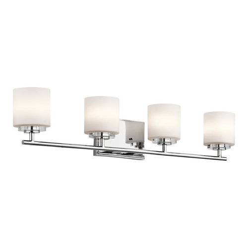 Kichler Lighting Kichler Lighting O Hara Chrome Bathroom Light 45503CH