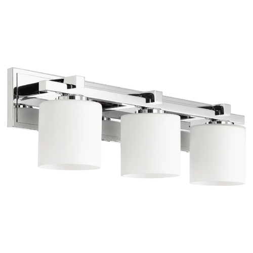 Beau Quorum Lighting Quorum Lighting Chrome Bathroom Light 5369 3 14