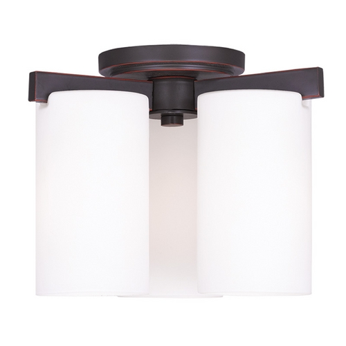 Livex Lighting Livex Lighting Astoria Olde Bronze Flushmount Light 1324-67