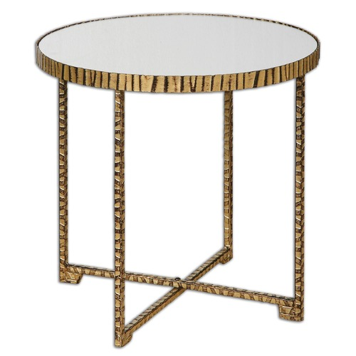 Uttermost Lighting Uttermost Myeshia Round Accent Table 24433