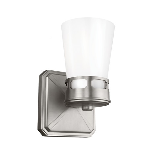Feiss Lighting Feiss Lighting Cupertino Satin Nickel Sconce VS20301SN