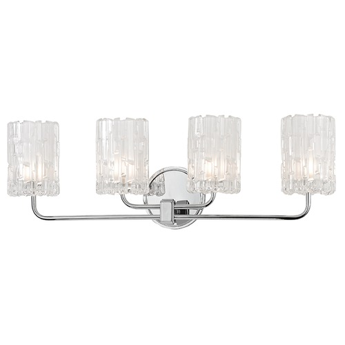 Hudson Valley Lighting Dexter 4 Light Bathroom Light - Polished Chrome 1334-PC