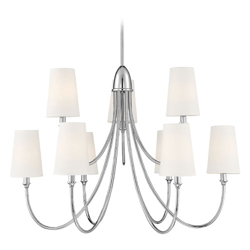 Savoy House Savoy House Lighting Cameron Polished Nickel Chandelier 1-2541-9-109
