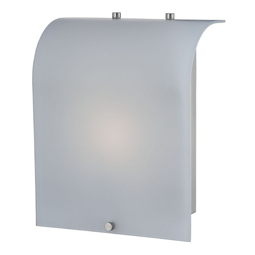 Lite Source Lighting Lite Source Lighting Shelley Polished Steel Sconce LS-16116