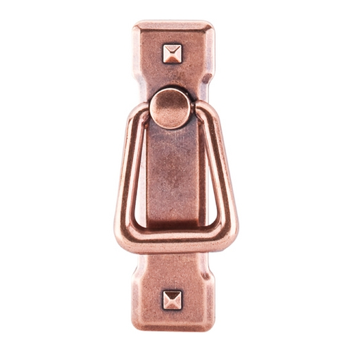 Top Knobs Hardware Cabinet Pull in Old English Copper Finish M241