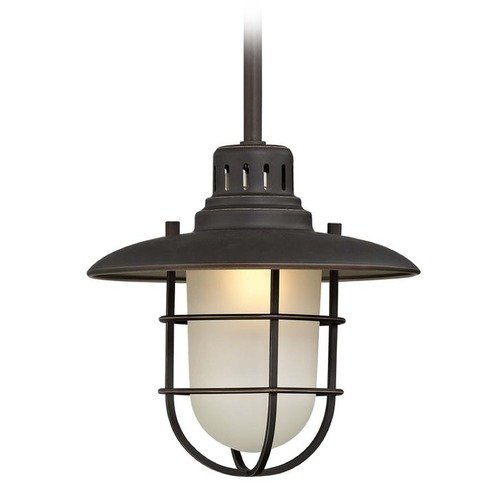 Design Classics Lighting 9-Inch Nautical LED Mini-Pendant 812-78/10W LED