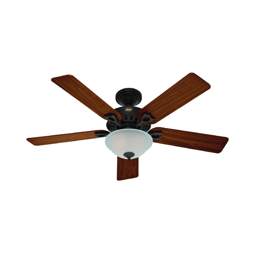 Hunter Fan Company Hunter Fan Company the Astoria New Bronze Ceiling Fan with Light 53057