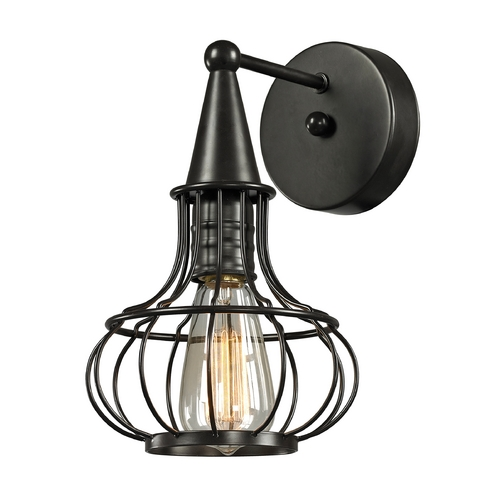 Elk Lighting Sconce Wall Light in Oil Rubbed Bronze Finish 14190/1