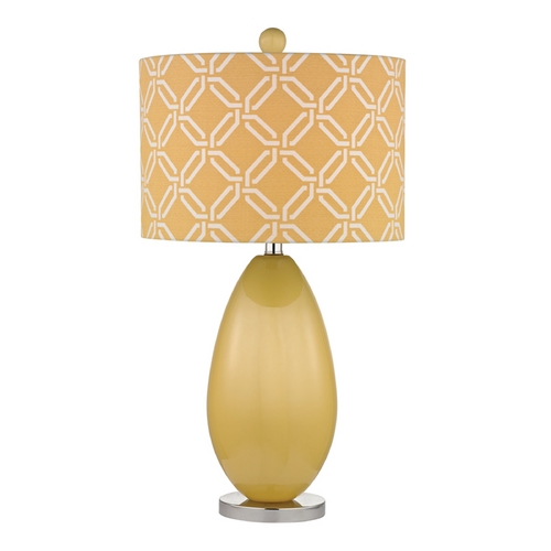 Dimond Lighting Table Lamp with Yellow Shades in Sunshine Yellow Finish D2498