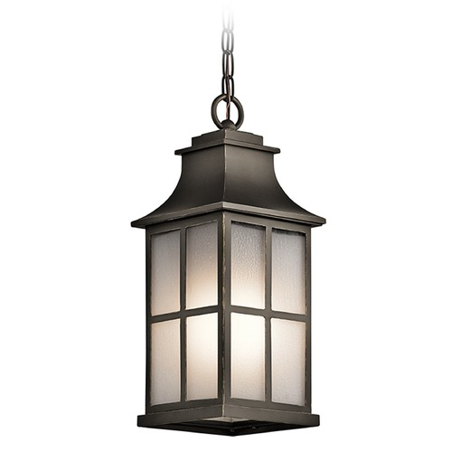 Kichler Lighting Kichler Lighting Pallerton Way Outdoor Hanging Light 49582OZ