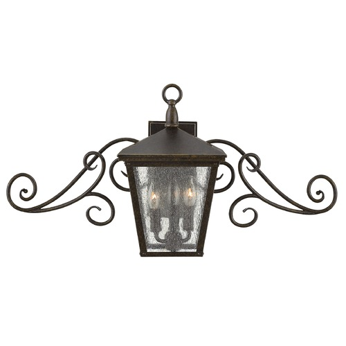 Hinkley Lighting Hinkley Lighting Trellis Regency Bronze Outdoor Wall Light 1433RB