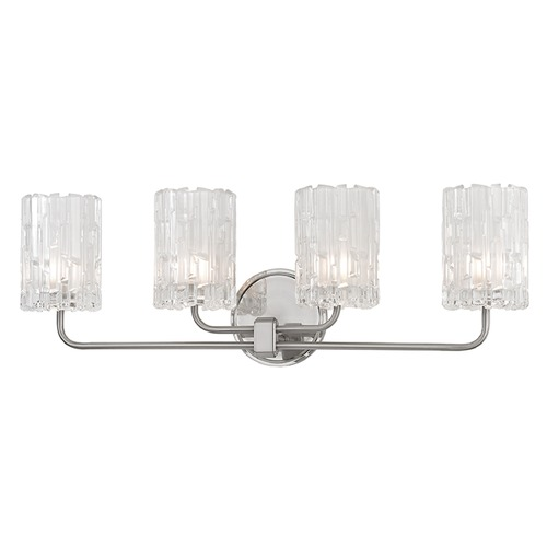 Hudson Valley Lighting Dexter 4 Light Bathroom Light - Satin Nickel 1334-SN