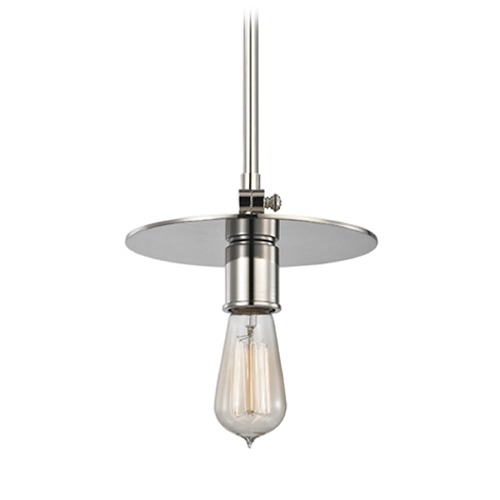 Hudson Valley Lighting Hudson Valley Lighting Walker Polished Nickel Mini-Pendant Light 1160-PN
