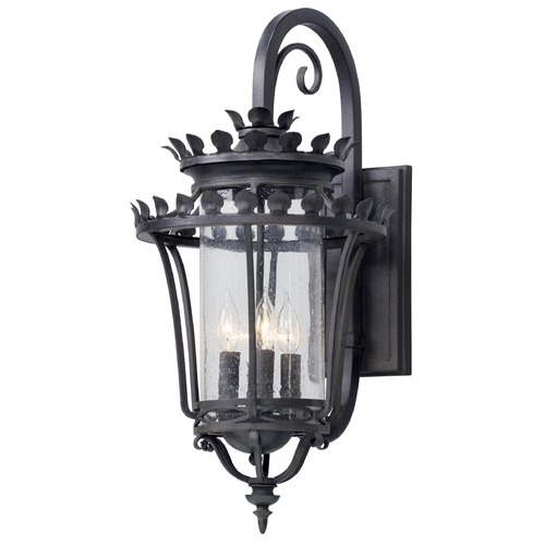 Troy Lighting Troy Lighting Greystone Forged Iron Outdoor Wall Light B5133