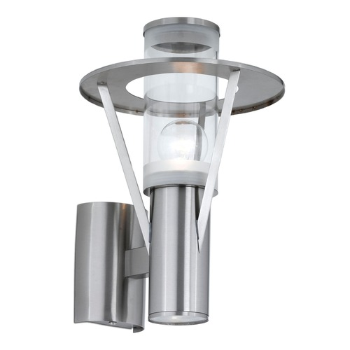 Eglo Lighting Eglo Belfast Stainless Steel Outdoor Wall Light 88114A