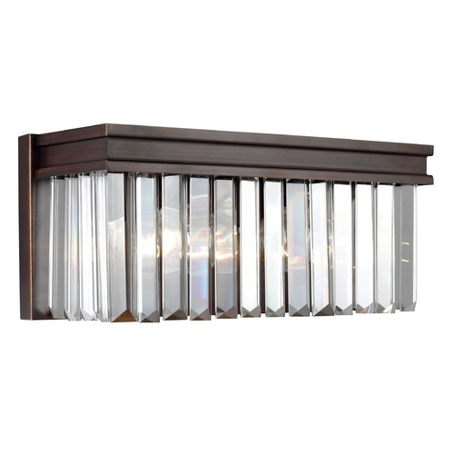 Sea Gull Lighting Sea Gull Lighting Carondelet Burnt Sienna LED Bathroom Light 4414002EN3-710