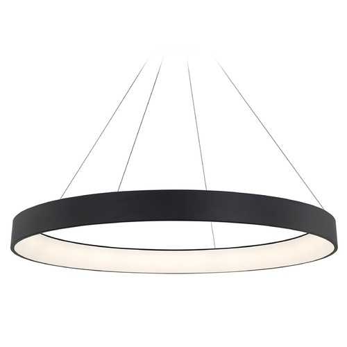 WAC Lighting Wac Lighting Corso Black LED Pendant Light PD-33753-BK