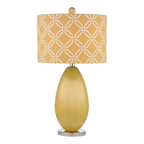 Dimond Lighting Sunshine Yellow LED Table Lamp with Yellow Shade D2498-LED