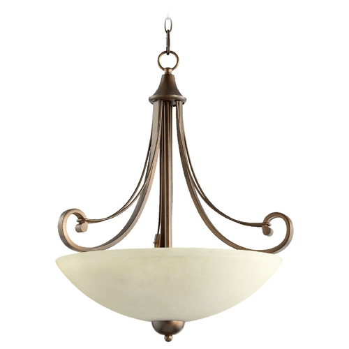 Quorum Lighting Quorum Lighting Lariat Oiled Bronze Pendant Light 8131-4-86