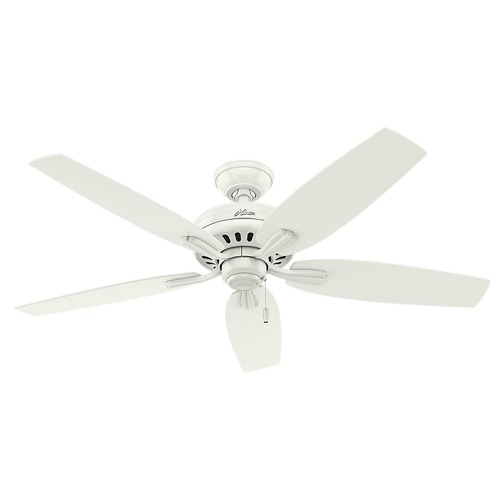 Hunter Fan Company Hunter Fan Company Newsome Fresh White Ceiling Fan Without Light 53319