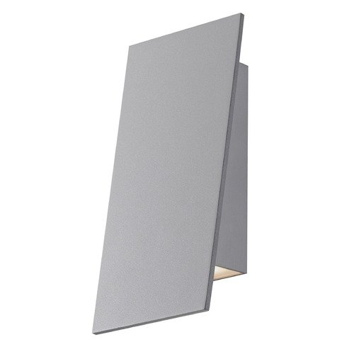 Sonneman Lighting Sonneman Angled Plane Textured Gray LED Sconce 2361.74-WL