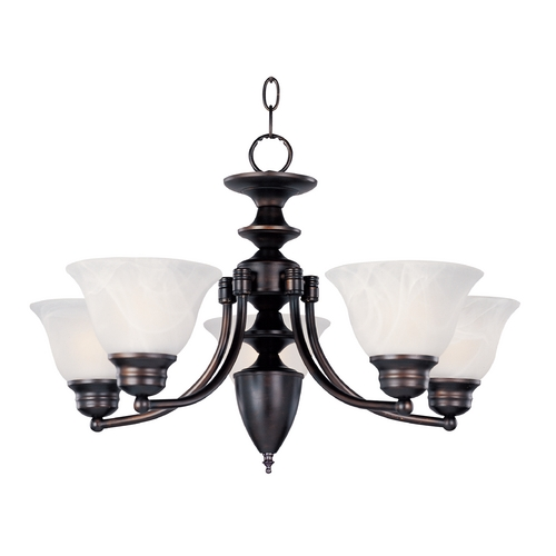 Maxim Lighting Maxim Lighting Malibu Oil Rubbed Bronze Chandelier 2699MROI