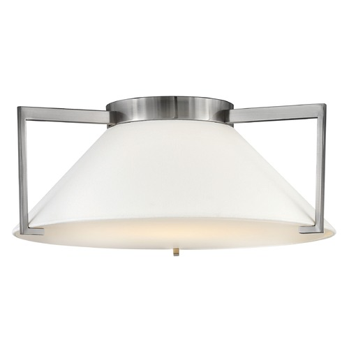 Hinkley Hinkley Calla Antique Nickel LED Flushmount Light 3723AN