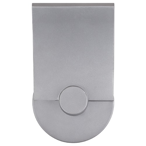 George Kovacs Lighting George Kovacs Flipout Sand Silver LED Outdoor Wall Light P1234-295-L