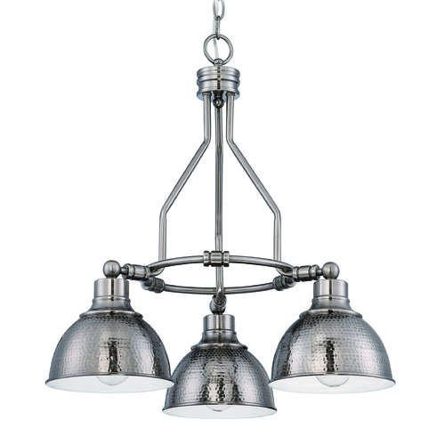 Jeremiah Lighting Jeremiah Timarron Antique Nickel Chandelier 35923-AN