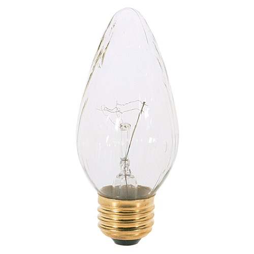 Satco Lighting Incandescent F15 Light Bulb Medium Base 120V Dimmable by Satco S3376