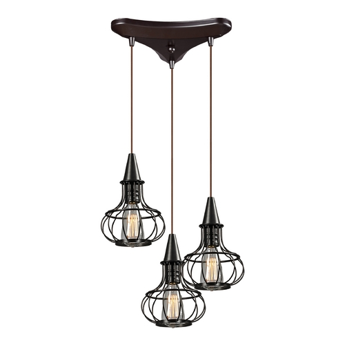 Elk Lighting Multi-Light Pendant Light 3-Lights 14191/3
