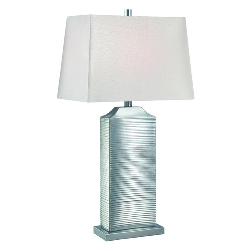 Lite Source Lighting Lite Source Adora Chrome Table Lamp with Rectangle Shade LS-22514C
