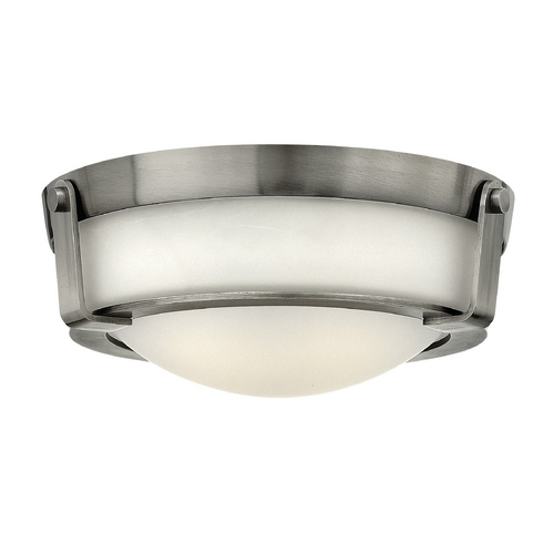 Hinkley Lighting Hinkley Lighting Hathaway Antique Nickel Flushmount Light 3223AN