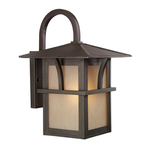 Sea Gull Lighting Sea Gull Lighting Medford Lakes Statuary Bronze LED Outdoor Wall Light 8888291S-51