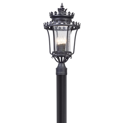 Troy Lighting Troy Lighting Greystone Forged Iron Post Light P5135