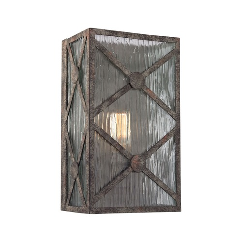 Elk Lighting Elk Lighting Radley Malted Rust Sconce 32120/1