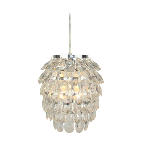 Light and Living Crystal Mini-Pendant Light 3008201
