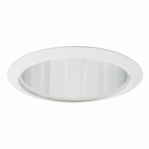 Elite Lighting Elite Lighting Clear and White Recessed Trim ELILB627CLWH