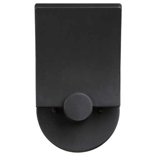 George Kovacs Lighting George Kovacs Flipout Black LED Outdoor Wall Light P1234-066-L